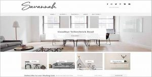 Savannah Responsive WordPress Theme