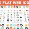 Simplistic Flat Web icons