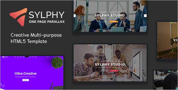 Sylphy Creative Multi-purpose HTML5 Template