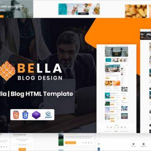 Bella Blog HTML Template