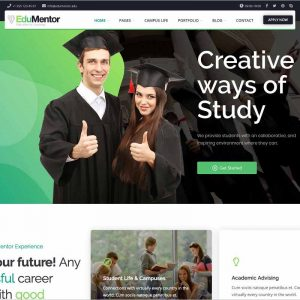 Edumentor Education WordPress Theme