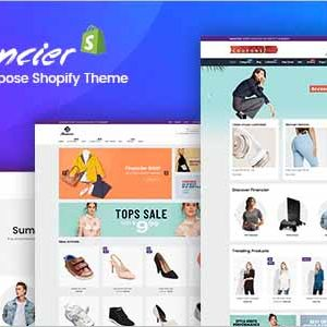 Financier Multipurpose Responsive Shopify Theme