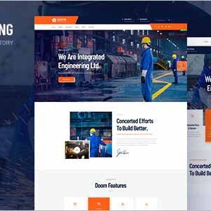 Industing Business WordPress Theme