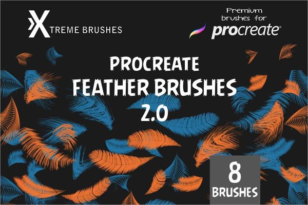 Procreate Feather Brushes