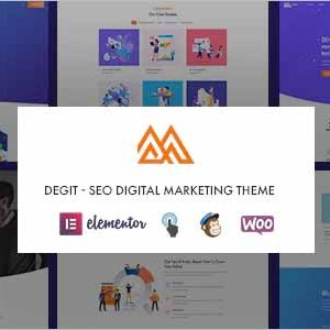 SEO Digital Marketing WordPress Theme