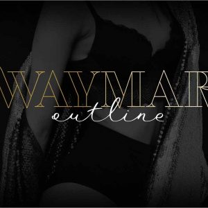 Waymar Outline Display Fonts