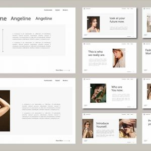 Angeline Powerpoint Template