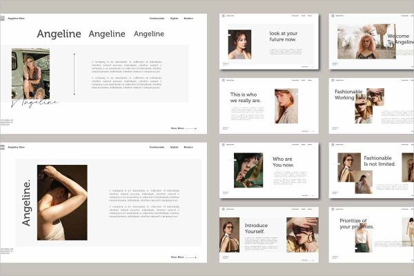 Angeline Powerpoint Template