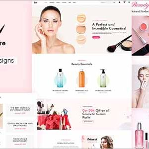 Beauty and Cosmetics Shopify Theme