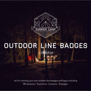 Outdoor Line Badges Creator