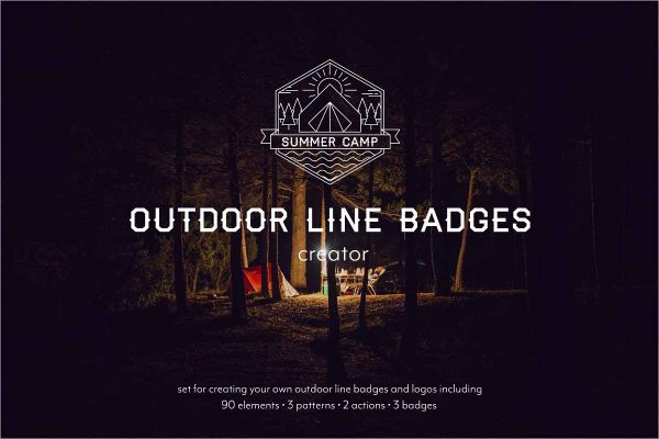 Outdoor Line Badges Creator