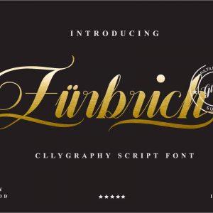 Zurbrich Script font