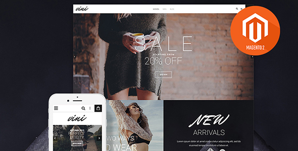 Clothes Magento Theme