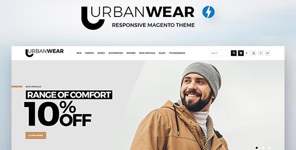 UrbanWear - Apparel Magento Theme