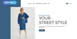 Best Jeans OpenCart templates