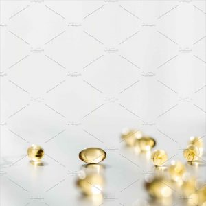 Food Supplement Pill Capsules