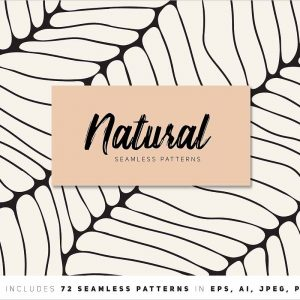 Natural Seamless Patterns Bundle