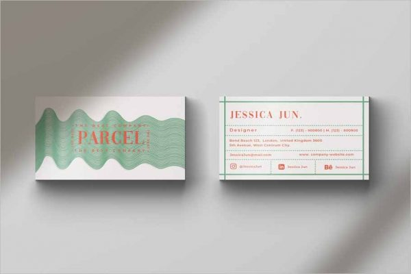 Parcel Business Card