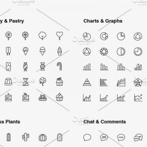 Ultimate Line Icons Pack
