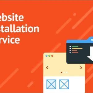 Website Installation Service